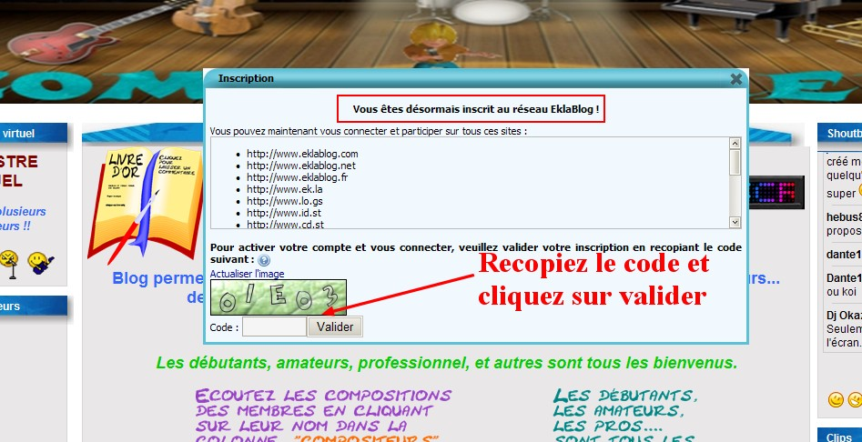 Tutoriel inscription